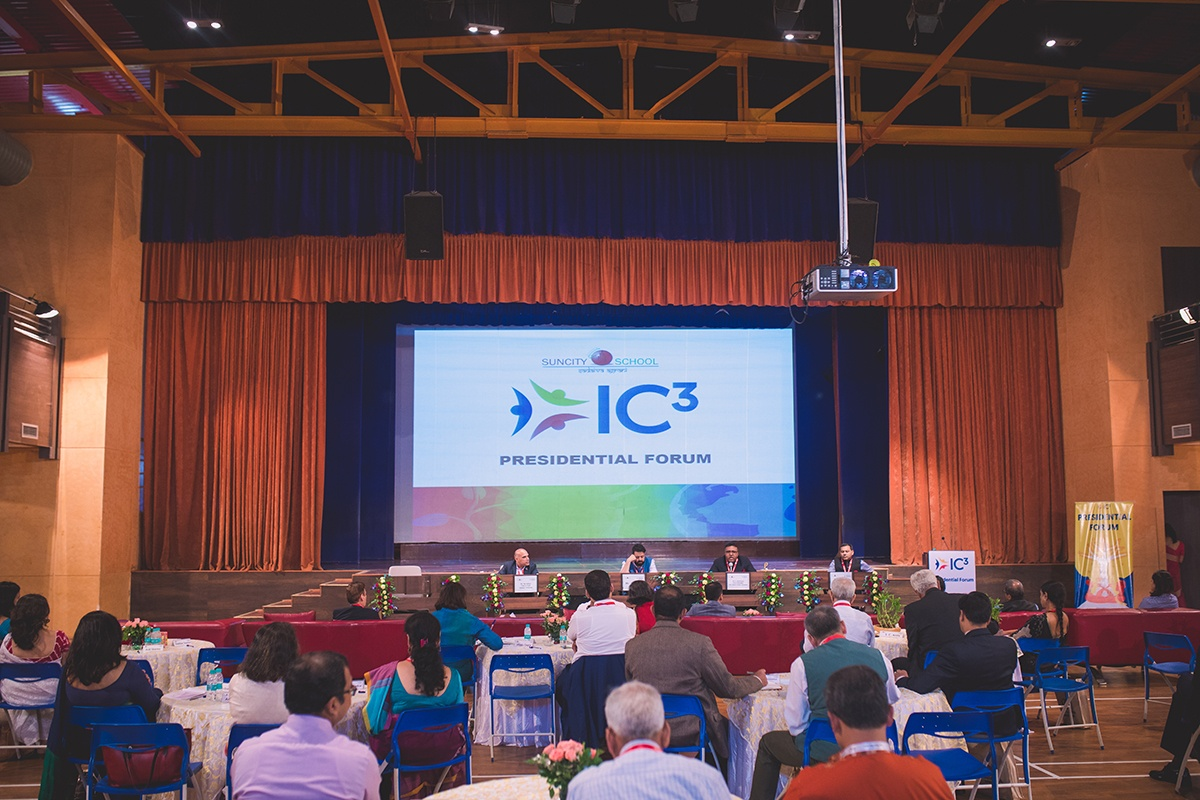2017 IC3 Conference Presidential Forum Stage